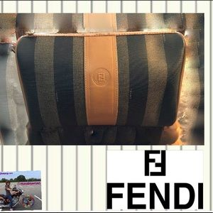 VTG FENDI SHOULDER BAG DUST BAG SEE DEFECTS